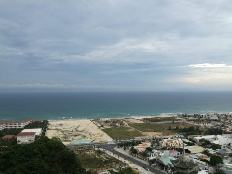 五行山頂上からの眺め