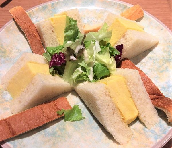 厚焼きサンドイッチ