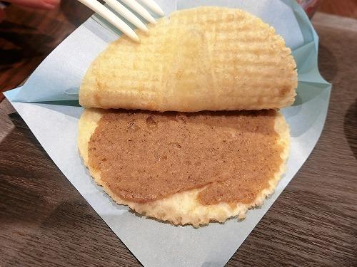 ゴーフレーシュシュガーバター中身