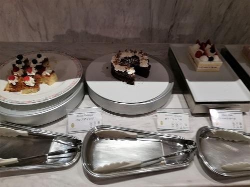 パンプディング・ガトーショコラ・ショートケーキ