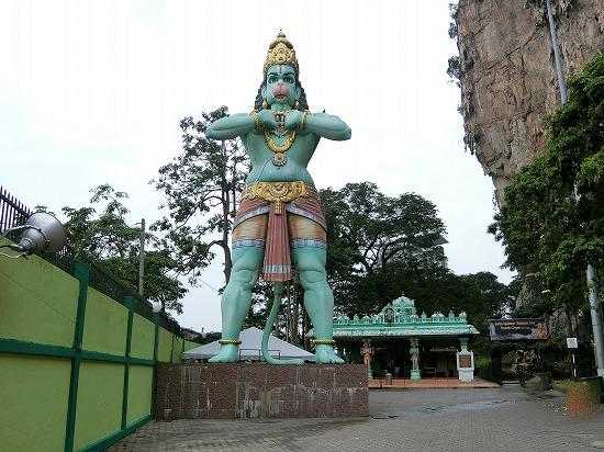 猿の神様ハヌマーン像