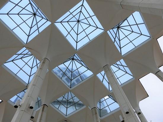 ブルーモスク天井