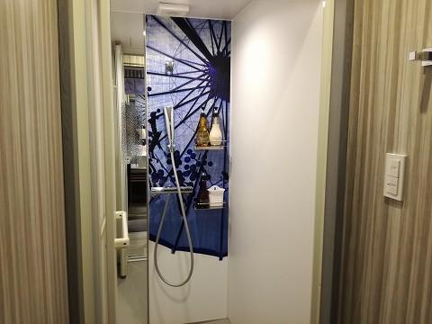 ホテルカーゴ心斎橋客室シャワールーム