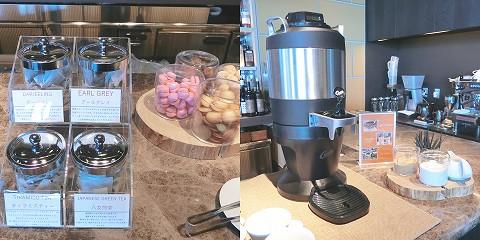 紅茶&クッキーとコーヒー