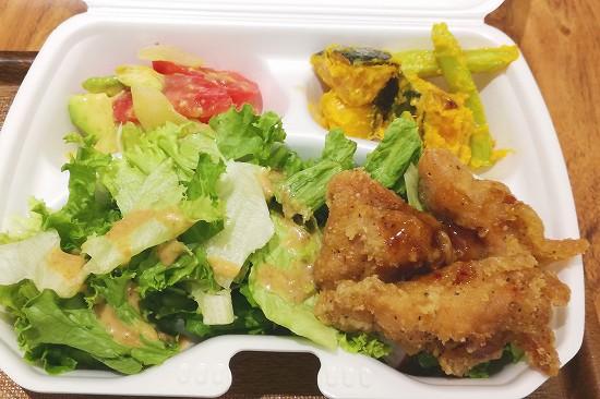 レギュラーサラダ弁当(竜田揚げ)主菜1品副菜2品