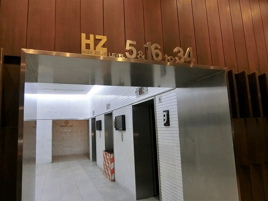 エレベーター34階