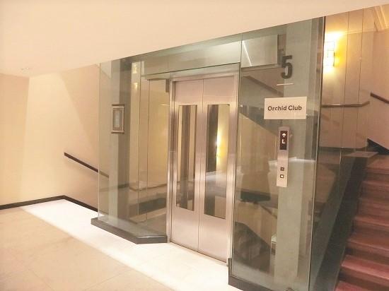 クラブフロア専用エレベーター