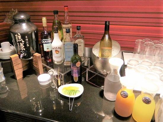 お酒とソフトドリンク