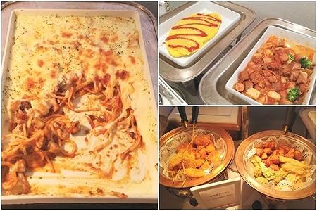グラタンスパゲッティと温料理