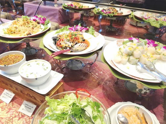 タイ料理の冷菜