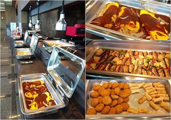 アパホテル横浜ベイタワー ランチビュッフェ 温料理