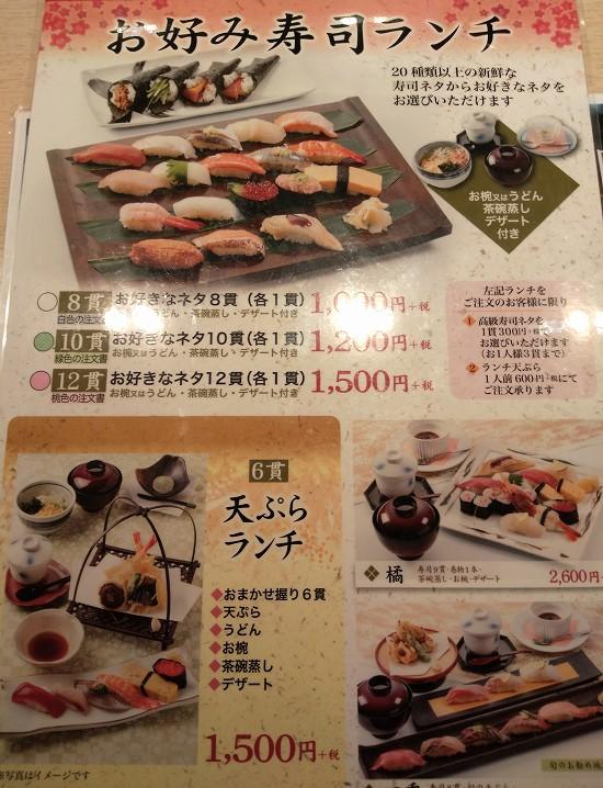 大乃寿司大和店 メニュー