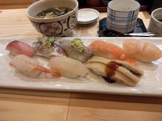 大乃寿司大和店 8貫セット1