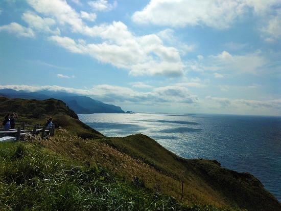 積丹半島 海岸線