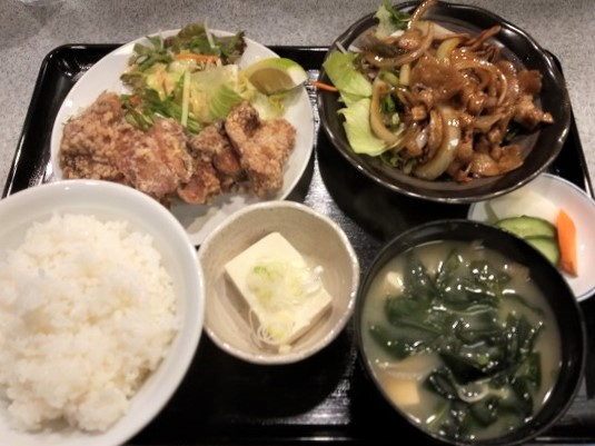 やまお川崎 ランチ お昼の定食Bセット