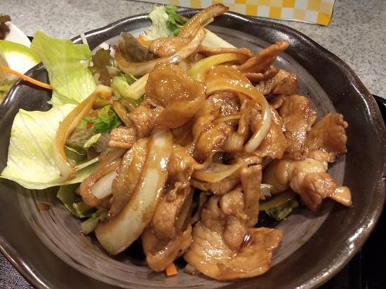 やまお川崎 ランチ 生姜焼き