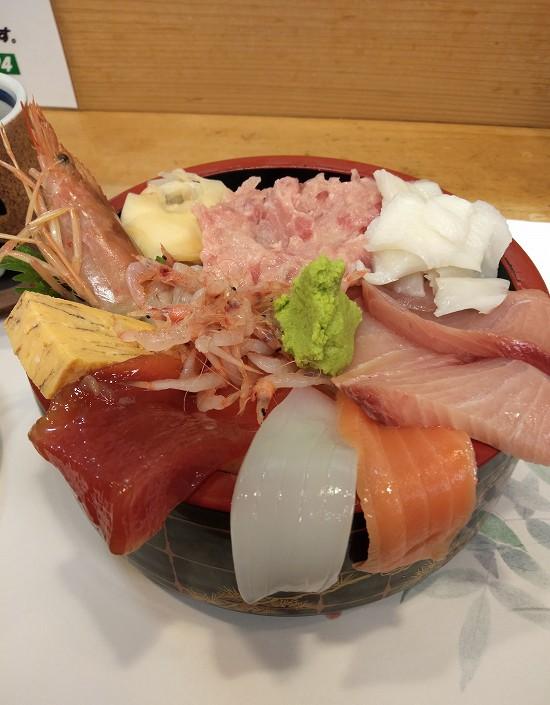 おまかせ丼1000円