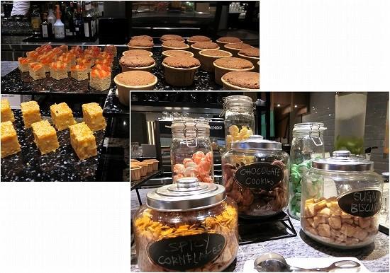 klia2 プラザプレミアムラウンジ ランドサイト1 デザートとお菓子