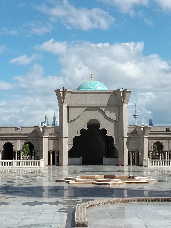 wilayah mosque(連邦直轄領モスク)ツインタワーとKLタワー