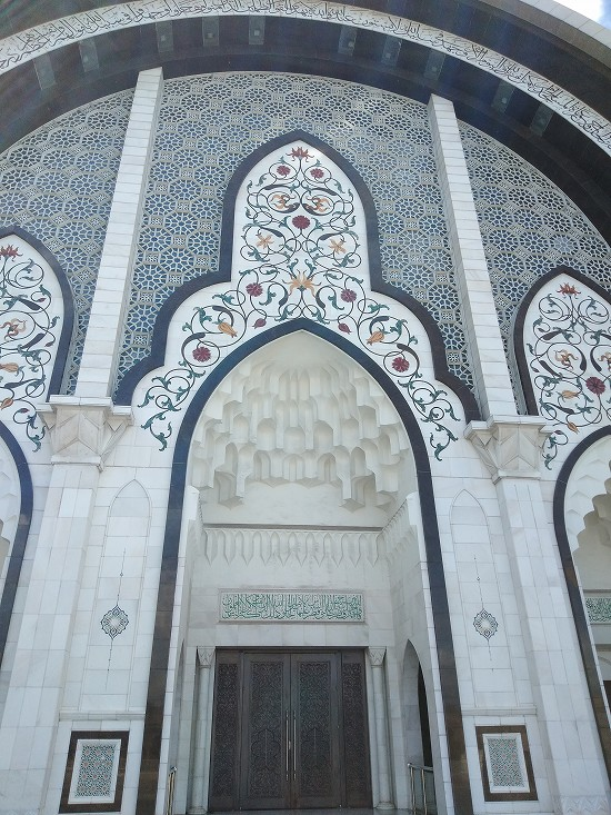 wilayah mosque(連邦直轄領モスク)壁面デザイン