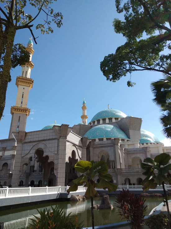 wilayah mosque(連邦直轄領モスク)外観