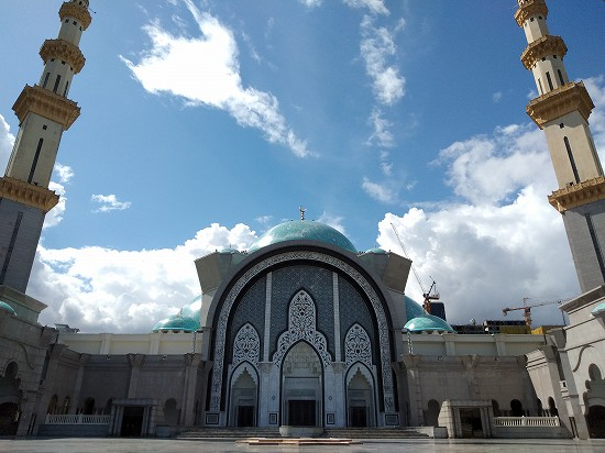 wilayah mosque(連邦直轄領モスク)正面