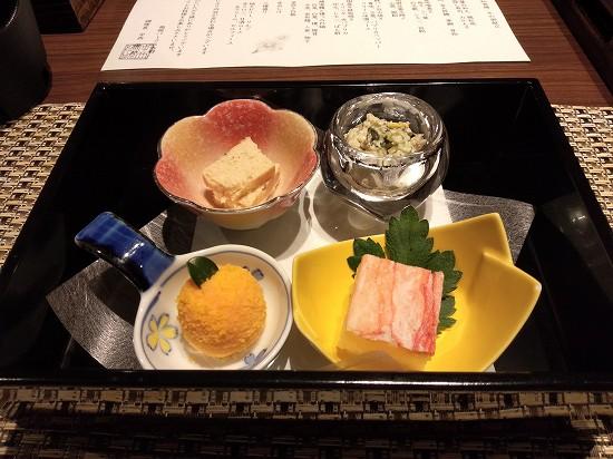箱根パークス吉野 夕食 前菜