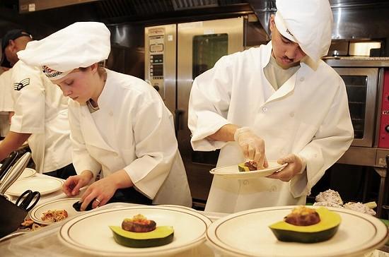 フランス料理キッチン