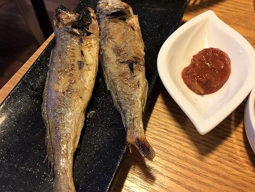 イシモチの焼き魚