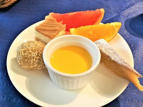 デザート&フルーツのプレート
