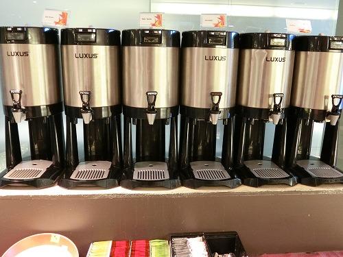 ドリンク(お湯、テタリック、ホットミルク、コーヒー)