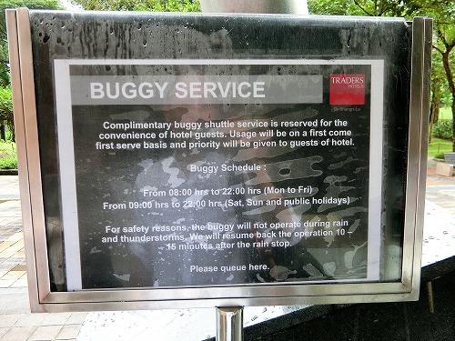 バギーサービスのサイン