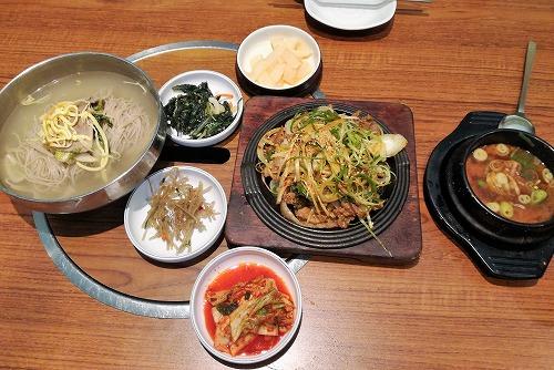 本平壌 ボンピヤン(仁川空港店) 食事