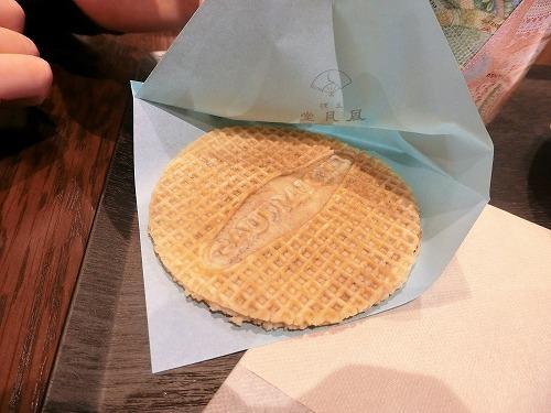ゴーフレーシュシュガーバター1