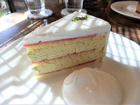 ピスタチオのショートケーキ