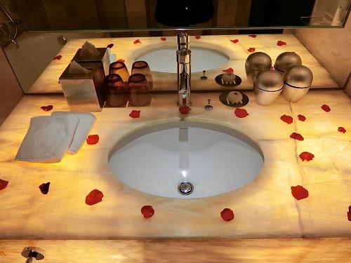 クラブルーム洗面台