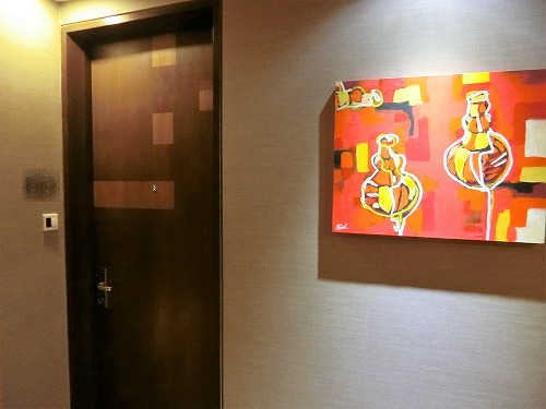 クラブルームのドア