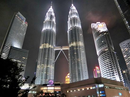 ツインタワー夜景
