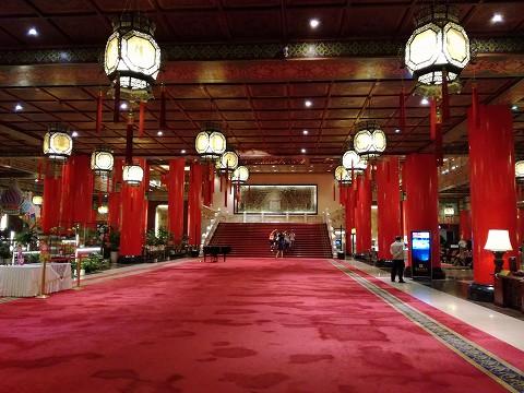 圓山大飯店ロビー