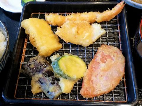 日替わり天ぷら6種