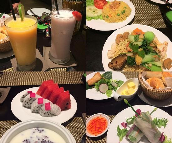 メリアダナンホテル夕食
