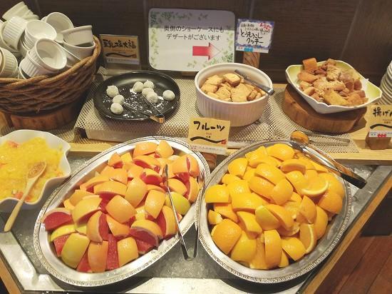フルーツとデザート