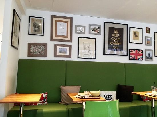 ヴァルカナイズ・ザ・カフェ (VULCANIZE THE CAFE)店内