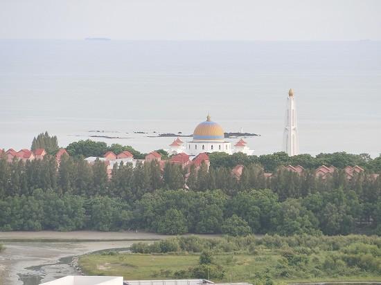 水上モスクMasjid Selat Melaka