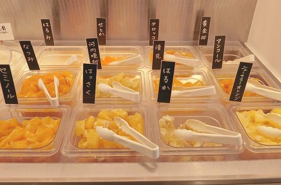 みかん12種類食べ比べ