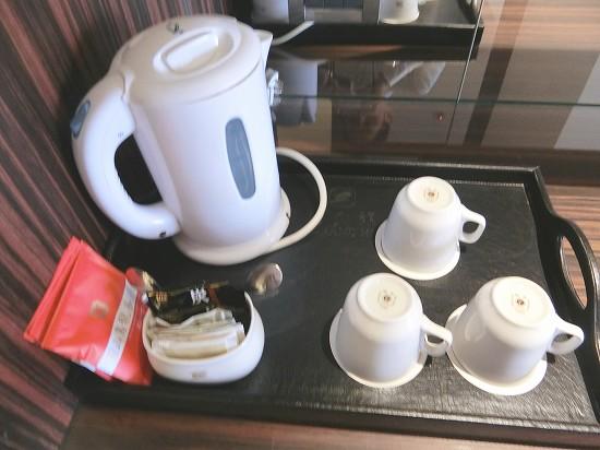 ウーロン茶とコーヒー