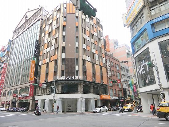 オレンジホテル台北駅前外観