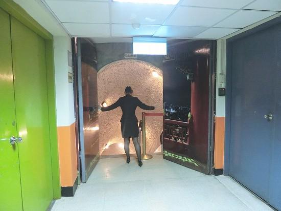 秘密のトンネルの入り口