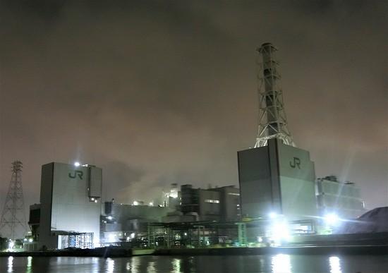 JR東日本川崎火力発電