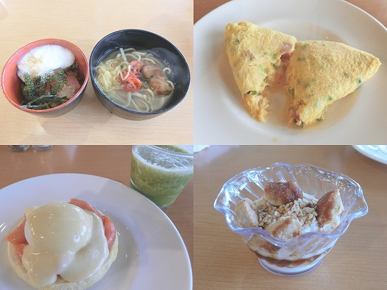 ライブキッチン料理